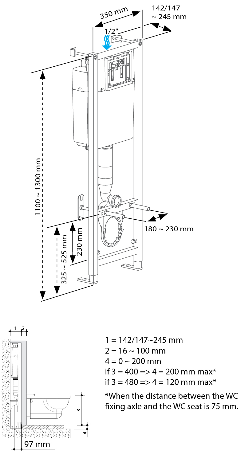 BCM 350 Drawing