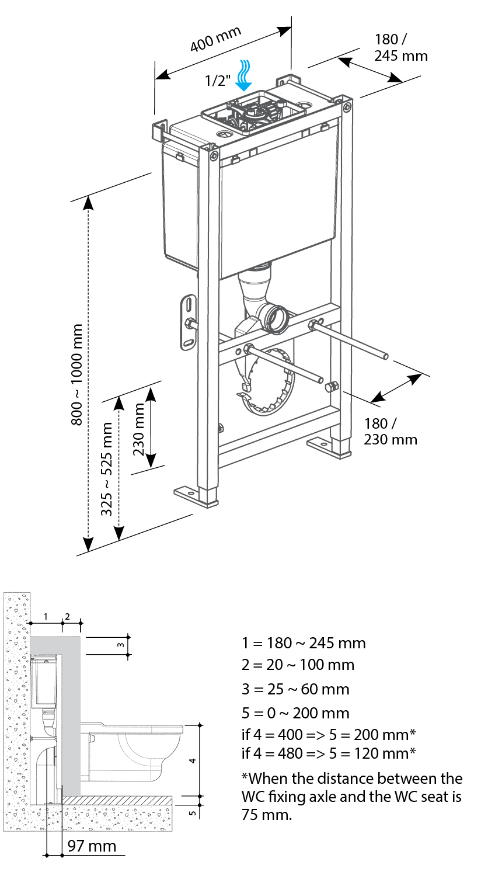 BCM 800 Drawings