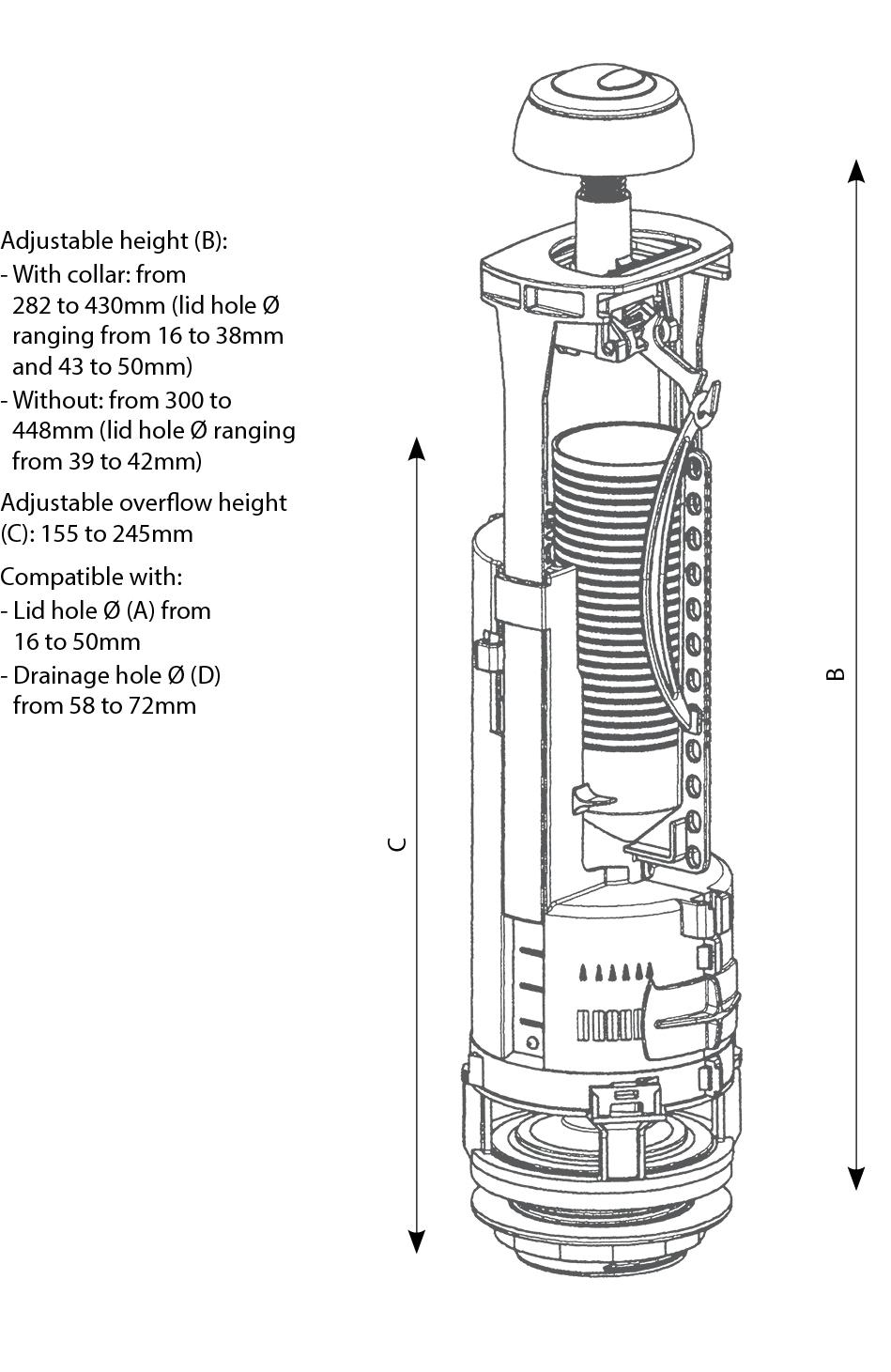 Optima 49 technical drawings