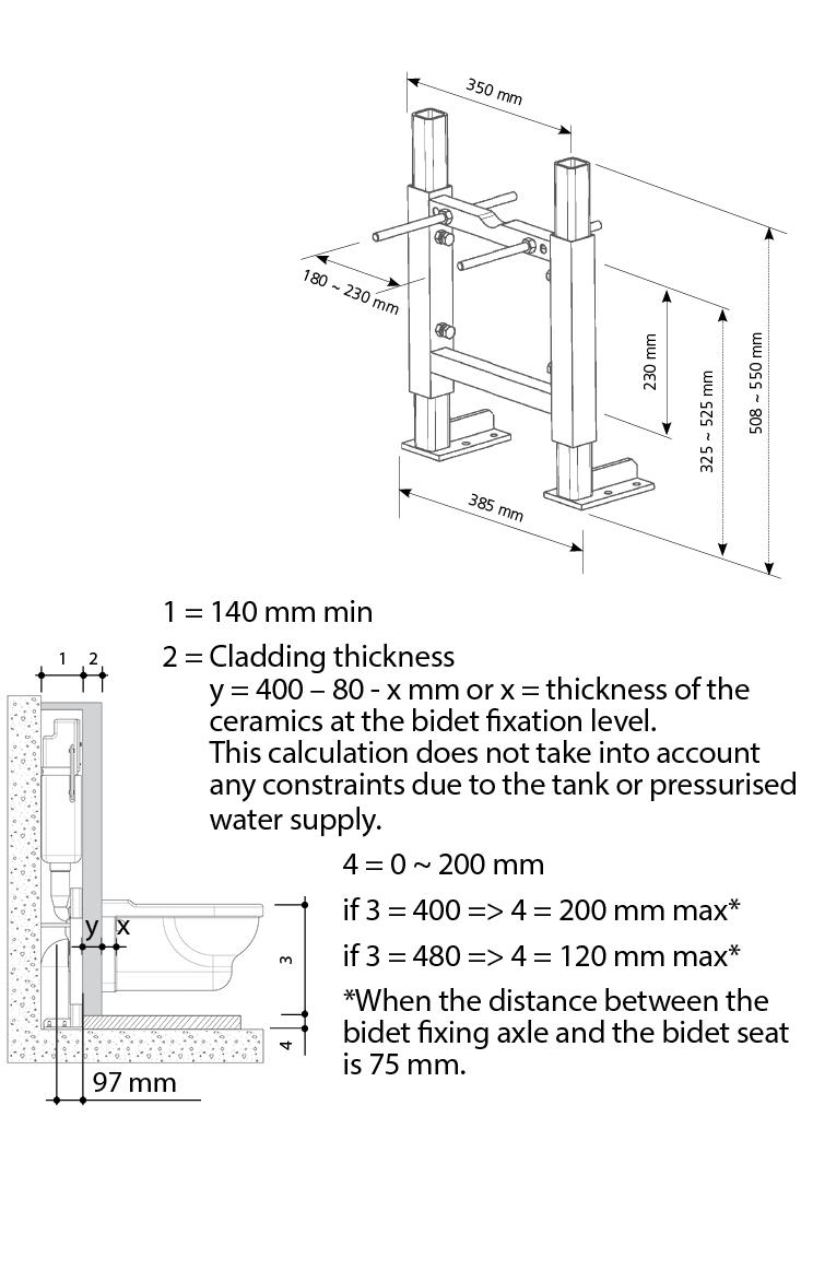 SCU 350 technical drawing