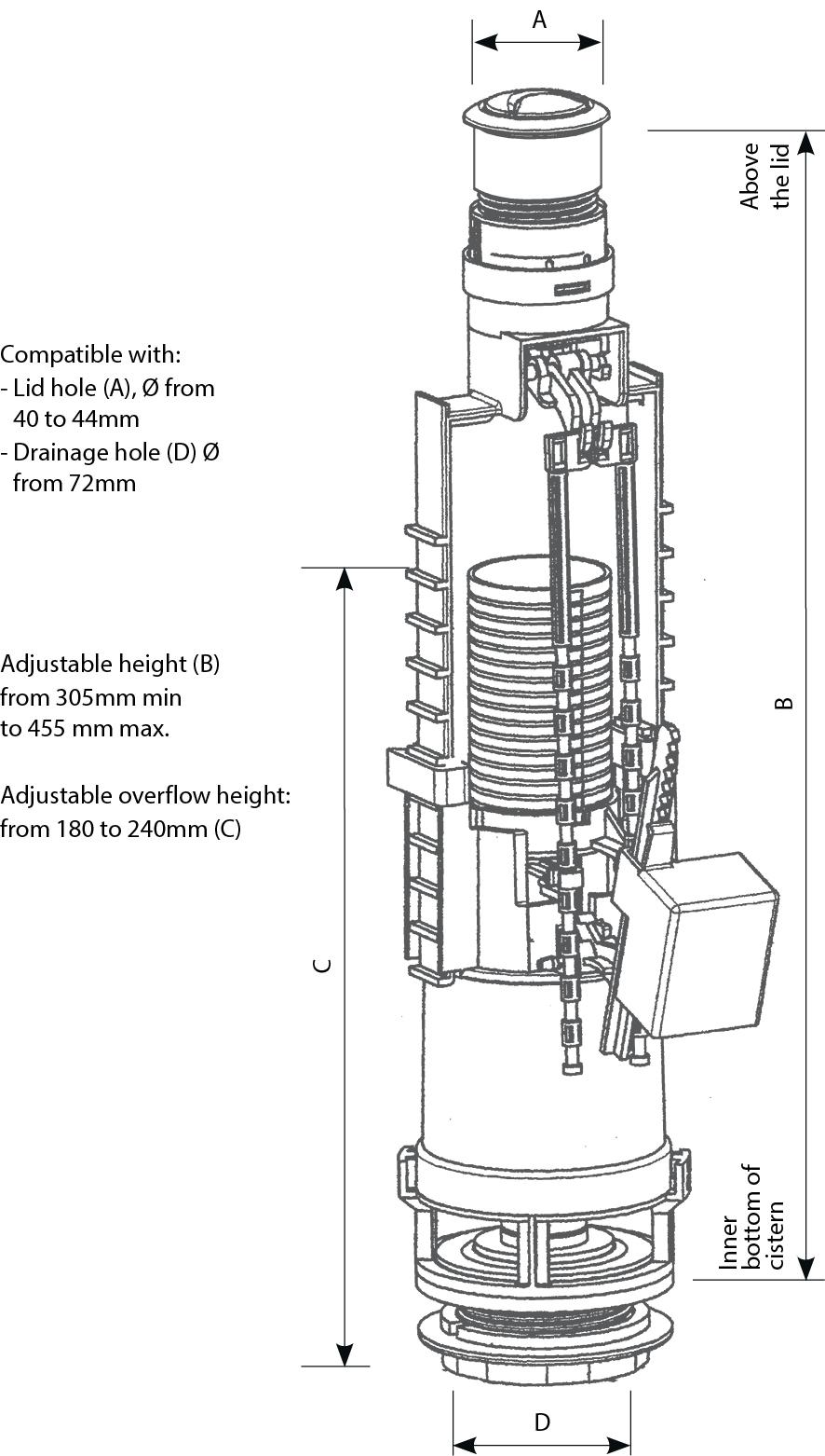 Skipper 45 technical drawings