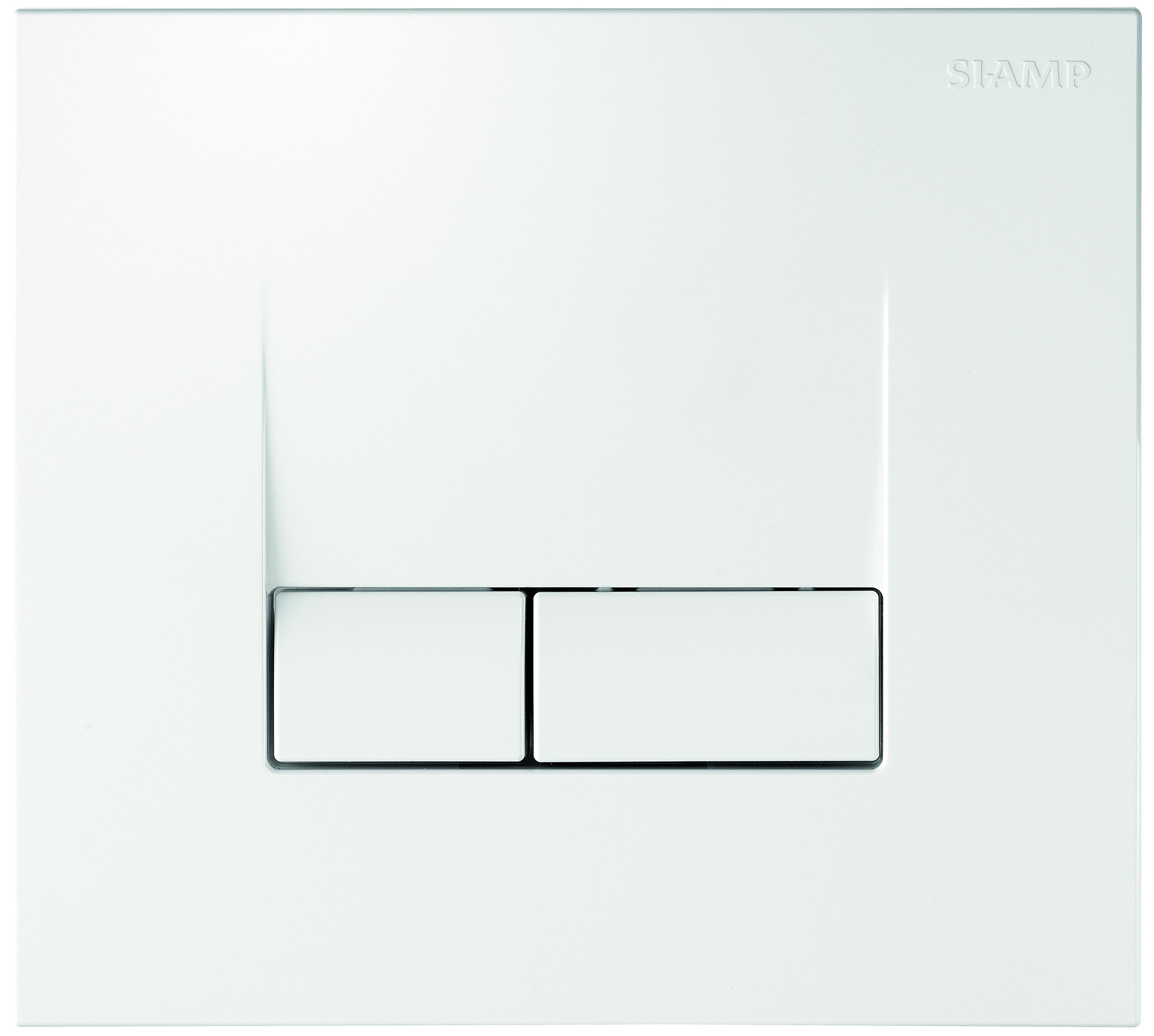 Smarty flush plate